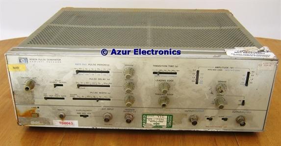 Repair HP 8082A Pulse Generator